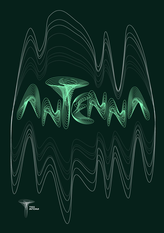 i.rihova_antenna A2 poster